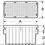 grease trap dimensions