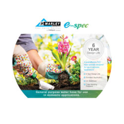 E-spec Garden Hose 12mm without Fittings